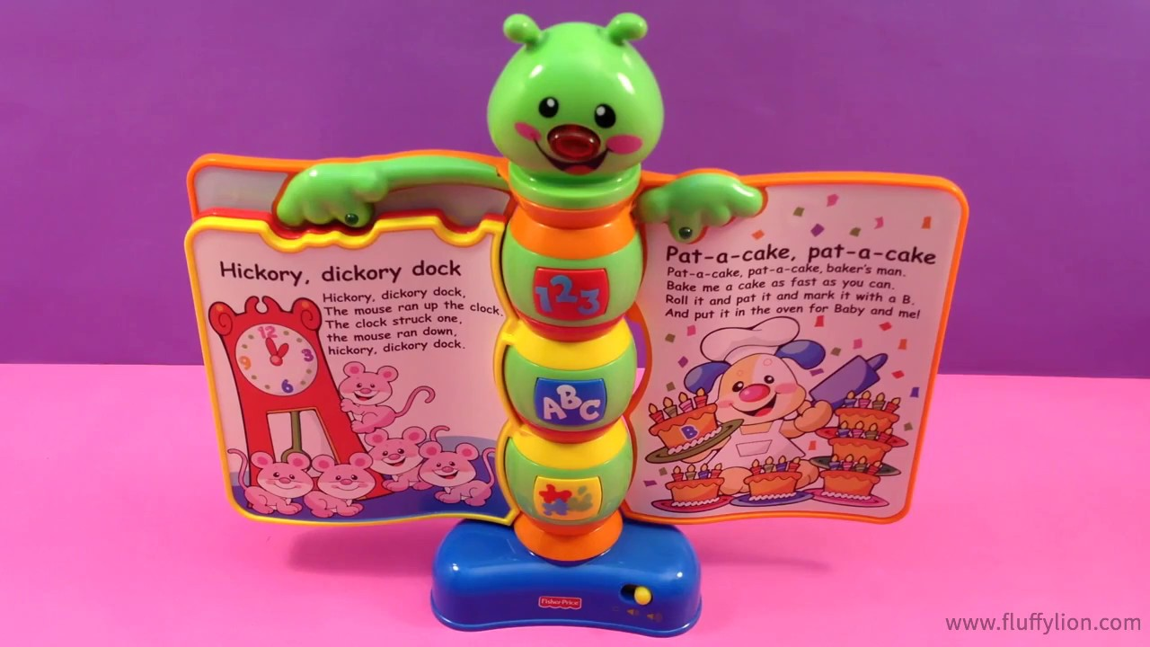 Fisher Price Storybook Rhymes Lights Sounds Book Toy For Kids