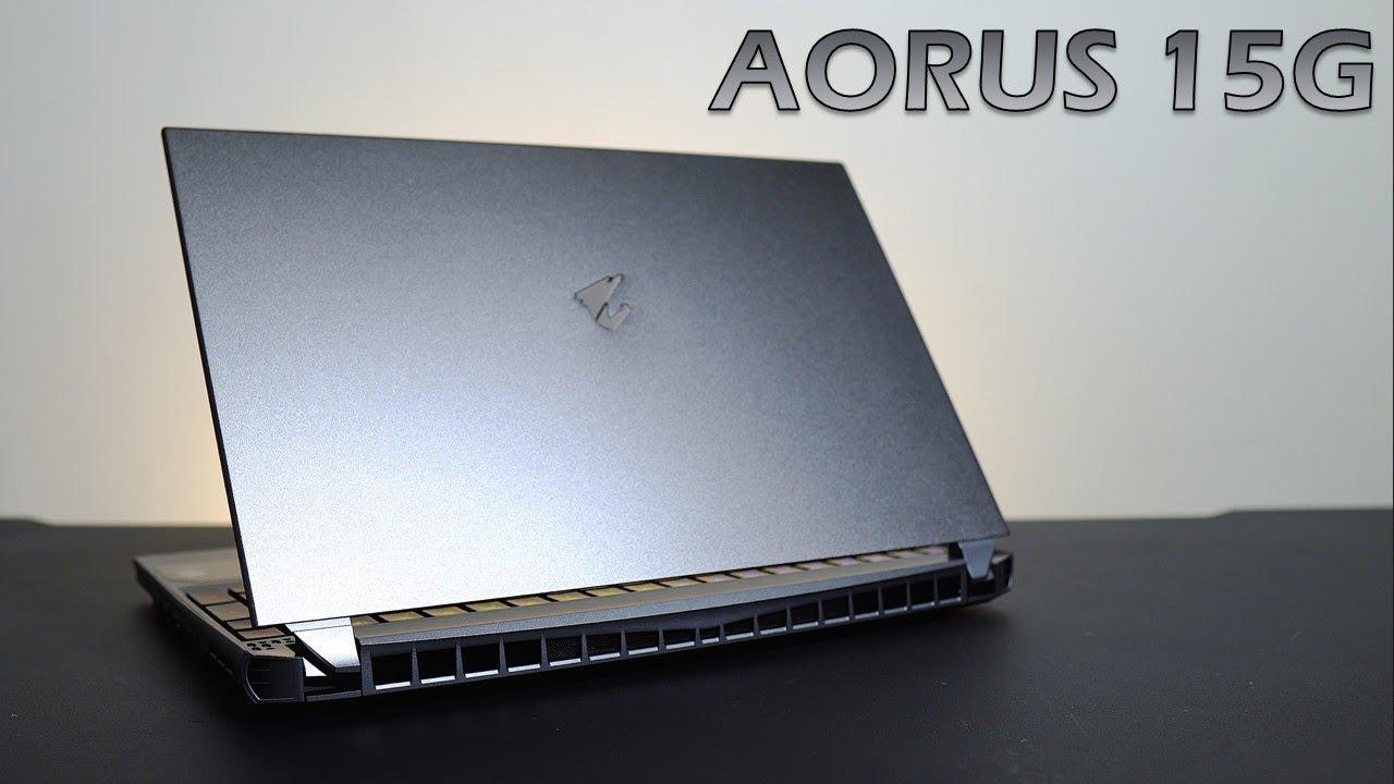 【Huan】 主流8核心的筆電終於來了! 搭載機械鍵盤的電競筆電,技嘉AORUS 15G評測