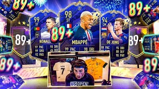WTF HUGE MAIN ACCOUNT PULL!! THESE 89+ PACKS ARE CRAZY! FIFA 20 Ultimate Team