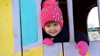 Видео для детей! Играем на детской площадке, в детском саду!  01.12.18