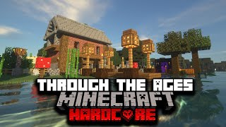 I Survived 100 Days In Hardcore Minecraft, But It Updated Every Hour... Here's What Happened