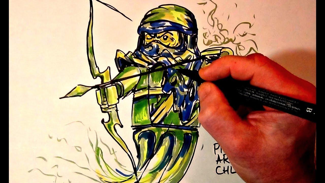 How To Draw Ninjago Soul Archer Lego Youtube