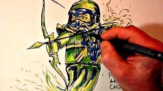 How to Draw Ninjago #SOUL ARCHER# LEGO