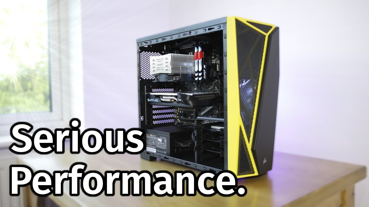 Here's What Ryzen 5 and a RX 570 Can Do  [PC Build & Performance]