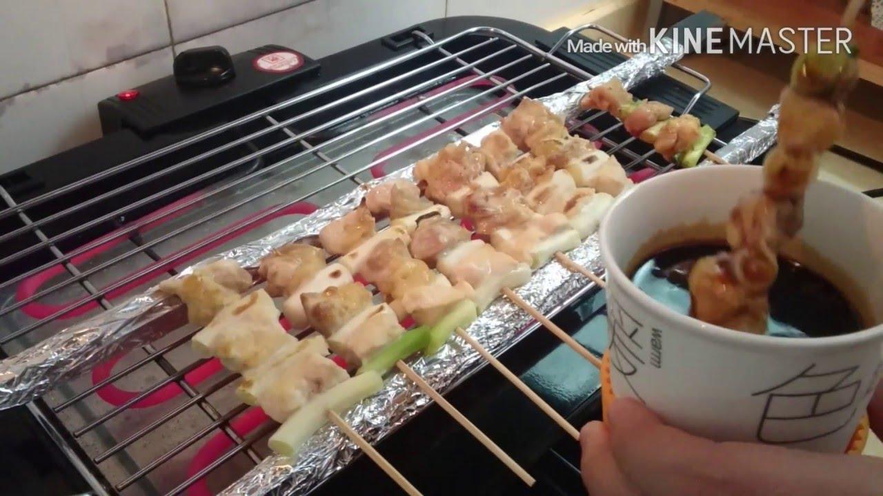 絶品!焼き鳥の焼き方 YAKITORI 【ねぎま編】 - YouTube