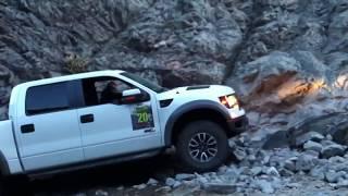 Ford Raptor Wet Rock Climb 2