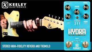 Keeley Hydra Tremolo Reverb