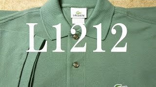 L1212(エルサルバドル製) ラコステポロシャツ フララコ ラコステ 検索動画 10