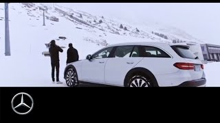 Unterwegs mit Matthias Malmedie und der Mercedes-Benz E-Klasse All-Terrain