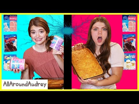 Twin Telepathy Cake Challenge / AllAroundAudrey