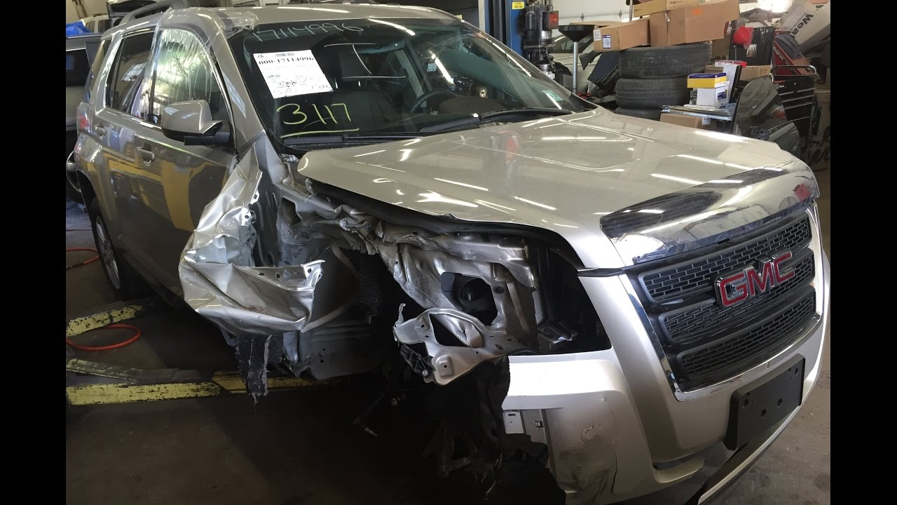 2015-gmc-terrain-right-front-hit-with-air-bag-deployment-time-lapse-repair