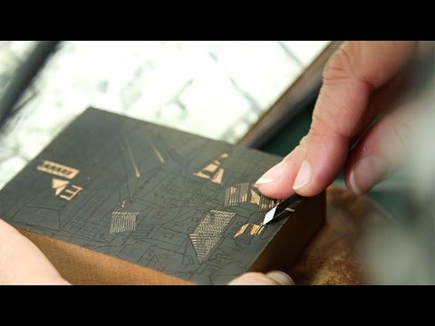 How to make a wood engraving