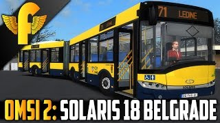 OMSI 2: Belgrade - Line 71 Solaris Urbino 18 Gameplay