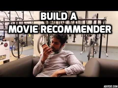 Build a Movie Recommender  Machine Learning for Hackers 4