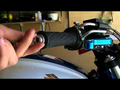 Motorcycle Bar-End Mirrors Installation