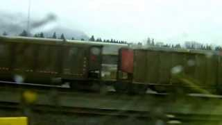 Video West Coast Express train coquitlam central to maple meadows station download MP3, 3GP, MP4, WEBM, AVI, FLV Desember 2017