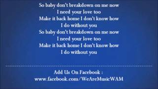 Akon - Breakdown (Lyrics On Screen)