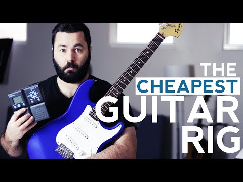 A (very) Budget Electric Guitar Rig for Churches [Guitar + Pedal/DI]