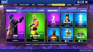BOUTIQUE FORTNITE DU 30 JANVIER 2019 - FORTNITE ITEM SHOP JANUARY 30 2019 !! New skin