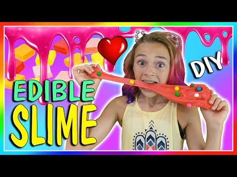EDIBLE BUBBLEGUM SLIME DIY | We Are The...