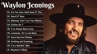WaylonJennings Best Songs ~ WaylonJennings Greatest Hits Full Album