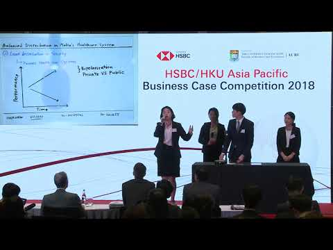 2018 Round 4 Yonsei University - HSBC/HKU Asia Pacific Business Case Competition