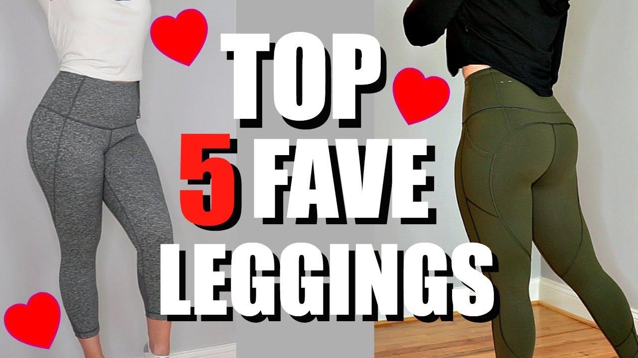 2e14774df008c Top 5 Favorite Workout Leggings | Try On Review, Nike, Lululemon, Zella, VS