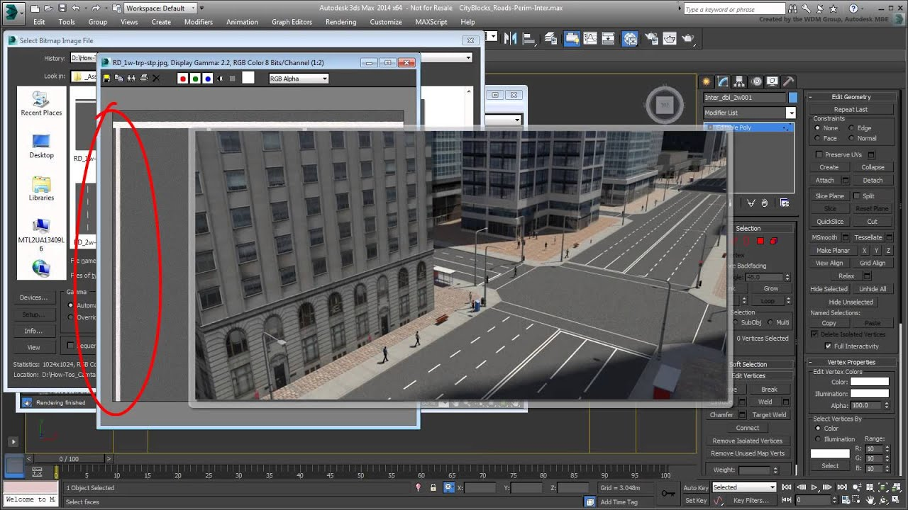 Creating Cityscapes in 3dsMax   CG TUTORIAL