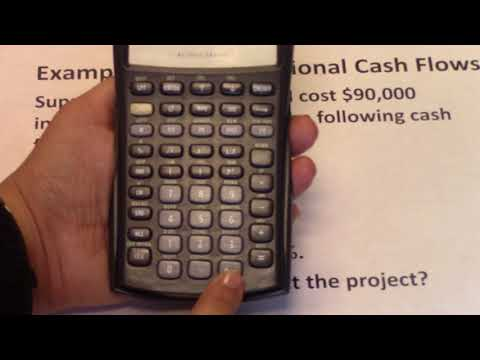 8  IRR and Nonconventional cash flows