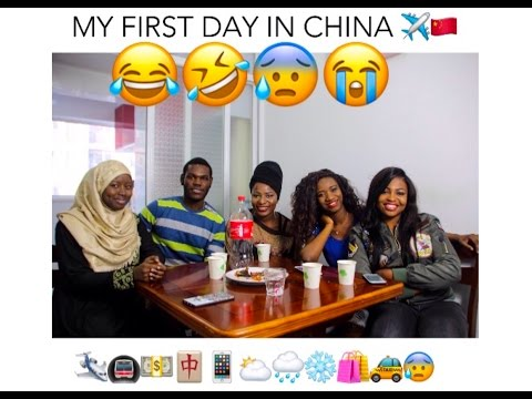 MY FIRST DAY IN CHINA #LiNC