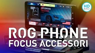 ASUS ROG PHONE 2: la differenza la fanno i tantissimi ACCESSORI