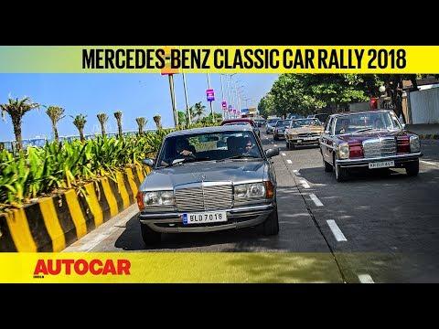 2018 Mercedes-Benz Classic Car Rally   Feature   Autocar India
