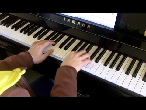 ABRSM Piano 2013-2014 Grade 4 A:6 A6 Mozart Allegro in G Nannerl Notebook No.35 Slow Demo