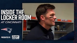 Patriots Celebrate Win Over the Bengals | Inside the Locker Room