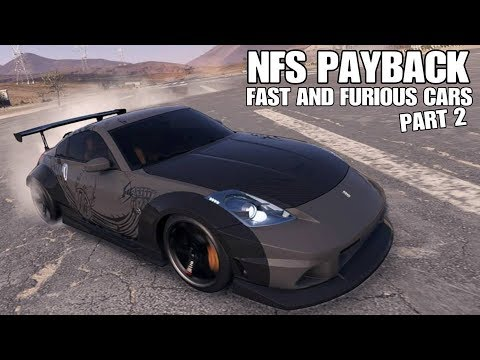 need for speed payback fast and furious cars part 2. Black Bedroom Furniture Sets. Home Design Ideas