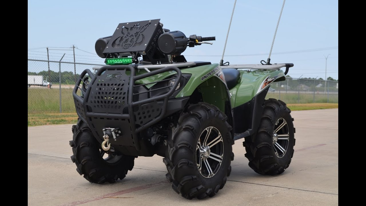 medium resolution of  9 499 for sale pre owned 2012 kawasaki brute force 750 lifted and loaded