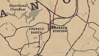 ПЕНТАКЛИ - Туз (ср.вск) - карты Таро. Ранчо Эмеральд. #подсказки #гайды,  рдр2онлайн, коллекция