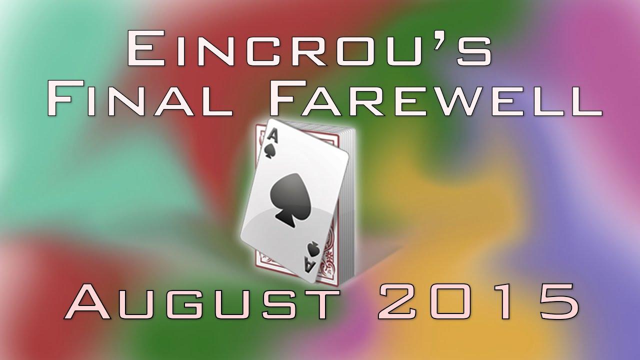 farewell gambling card games