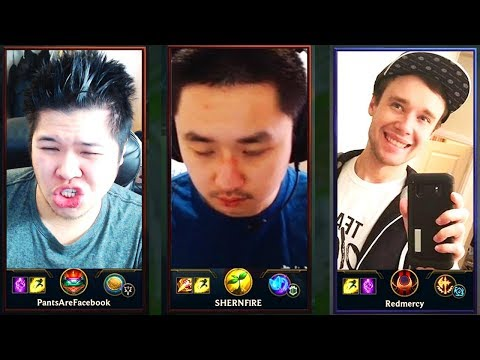 RANK 3 AND RANK 1 TEAM UP TO FACE REDMERCY? RIOT MATCHMAKING HELLO?? - Challenger to RANK 1