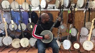Mike Ramsey banjo demo by Rowan Corbett