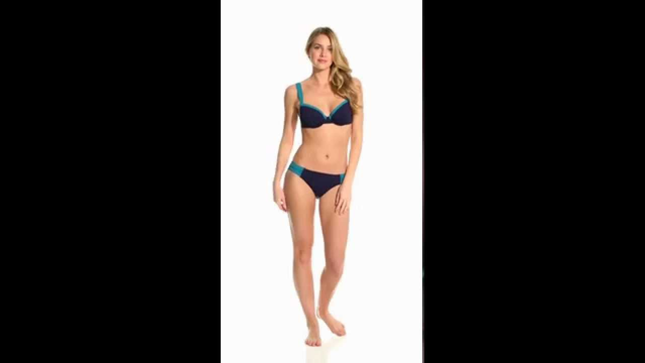 096599b685e Tommy Bahama Deck Piping OTS Full Coverage Bra Top