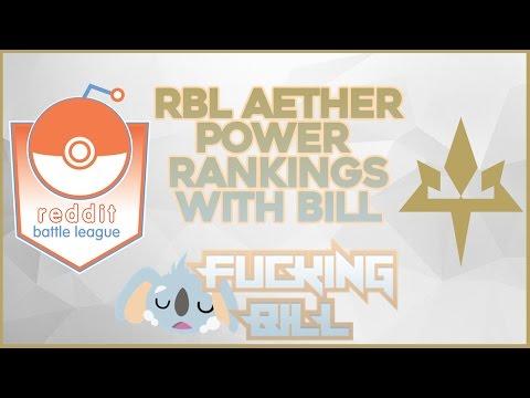 RBL Season 6 Post-Draft Power Rankings - Aether
