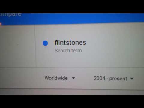 MANDELA EFFECT (FlintStones Google trends)