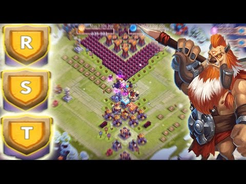 Castle Clash Good Base For HBM R,S,T