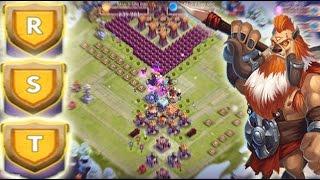 Castle Clash Good Base for HBM R,S,T