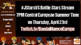 J-Stars Victory VS+ Battle Stars Stream #1 with DBZ, One Piece and Bleach!