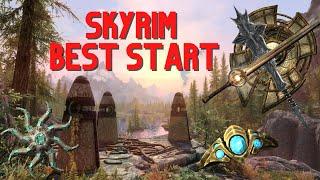 Skyrim - Best Stąrt + Tips & More! (2021)