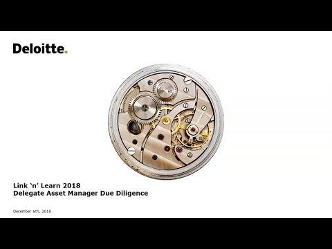 Link'n Learn - The Delegated Asset Manager Due Diligence