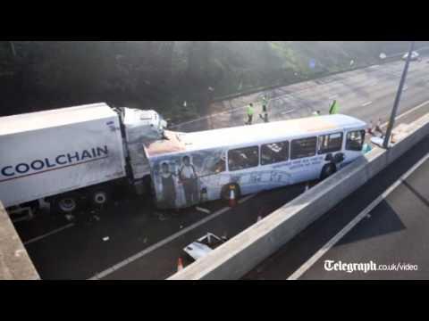 M5 crash:
