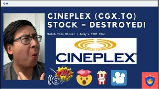 Cineplex  Cgx.to  Stock Just Got Destroyed, Time To Buy Or Sell? | Watch This Stock!